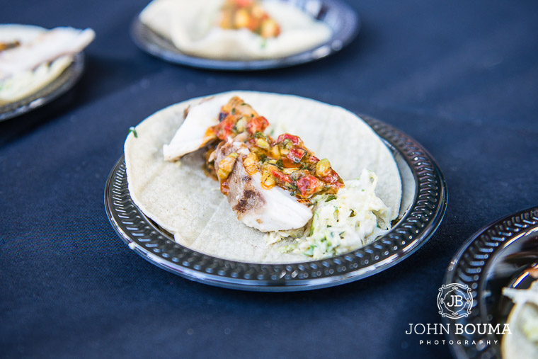 Fish Tacos prepared by Chris Miracolo, Executive Chef at S3 Restaurant in Ft. Lauderdale.