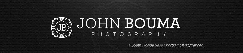 John Bouma Photography | Miami Portrait Photographer | South Florida Portrait Photographer logo